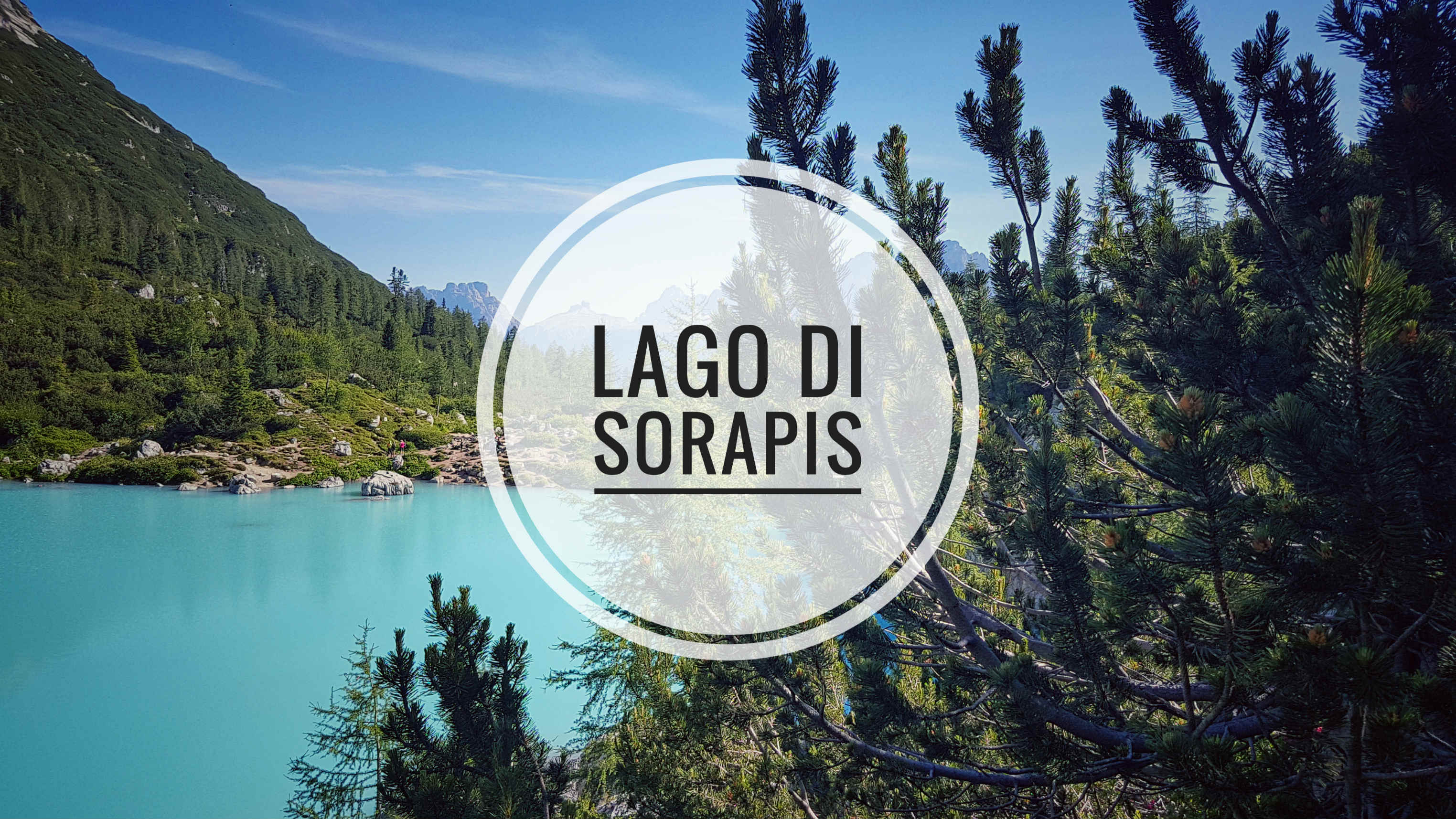 Tyrkysové jazero Lago di Sorapis
