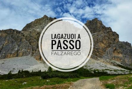 Lagazuoi a Passo Falzarego
