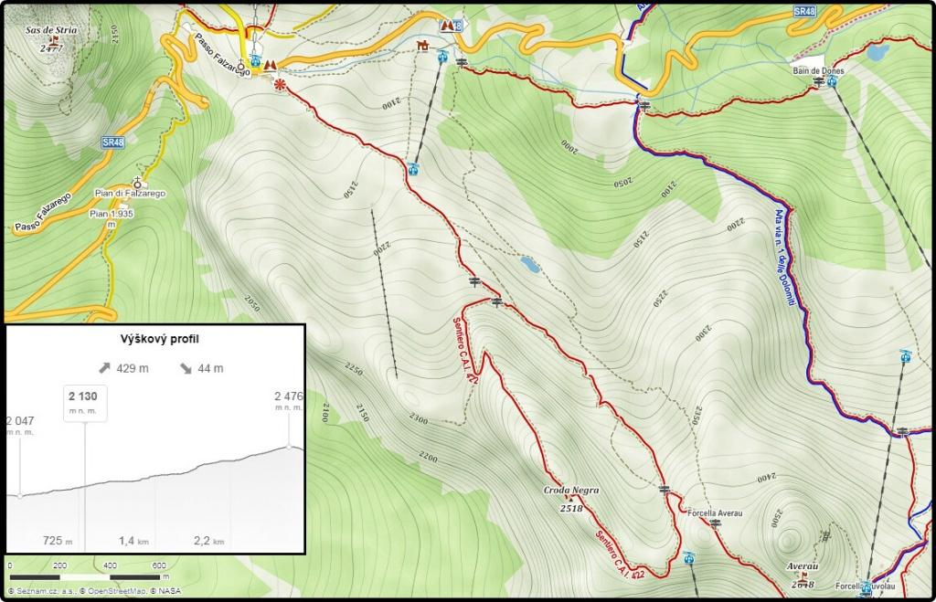 turisticka-mapa-jazera-limides-a-croda-negra
