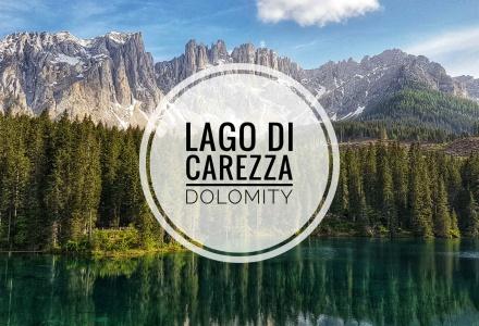 Lago di Carezza – Priezračné jazero v Dolomitoch