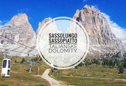 Sassolungo a Sassopiatto – Talianske Dolomity