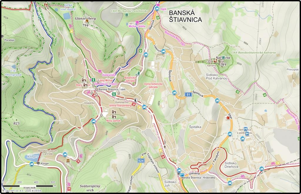 mapa-mesta-banska-stiavnica